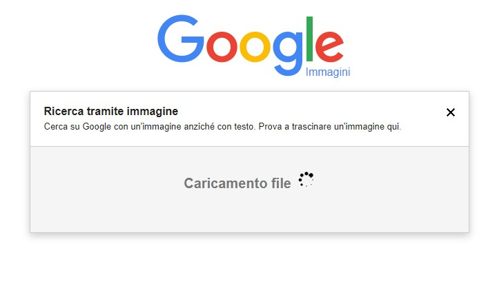 google ricerca tramite immagine