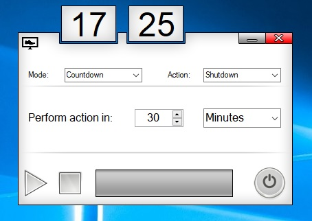 spegnere il pc sleep timer