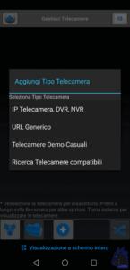 videosorveglianza tipo telecamera